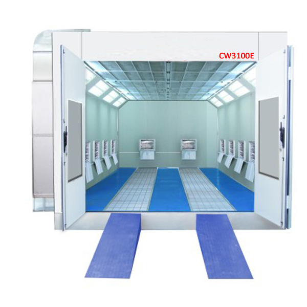 Reliable And Durable Cw3100e Auto Spray Paint Booth With Infrared Lamps View Cw3100e Auto Spray