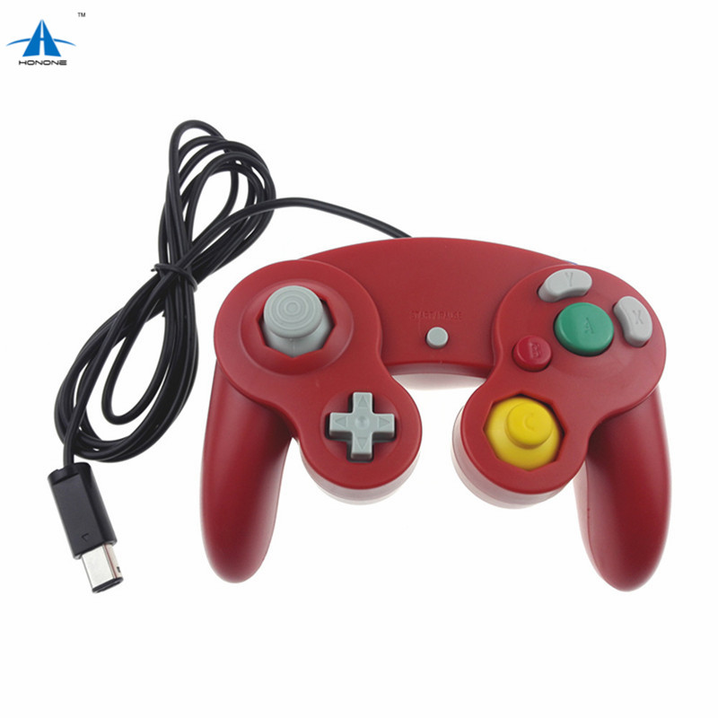 Wired game controller joystick joypad gamepad For Nintendo GameCube GC NGC with vibration