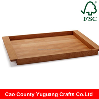 Yuguang Crafts Eco-Friendly Feature and Wood Material coffee cup tray