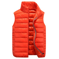 Chinese Supplier Young Fashion Men Red Vest