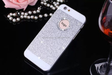 Luxury Bling Crystal Diamond Case For iPhone 4 4S 5 5S 6 6S Plus Glitter Acrylic PC Hard Back Cover Skin