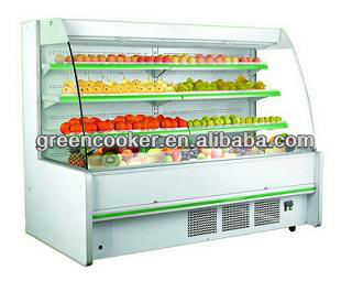 Supermarket fruit refrigerated cabinet OEM