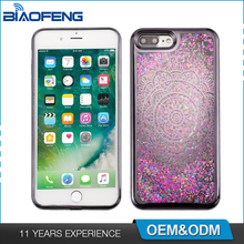 Supreme Customisable Tpu Liquid Quicksand Glitter Phonecase Smartphone Cover Cool Phone Shell Case For Iphone 7Plus