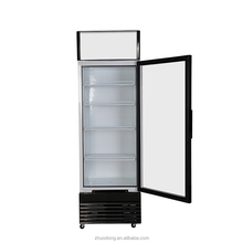 supermarket folding glass door commercial used display refrigerator for sale