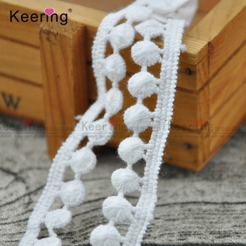 Cheap Wholesales OEM stock Offwhite cotton fringe trim tape