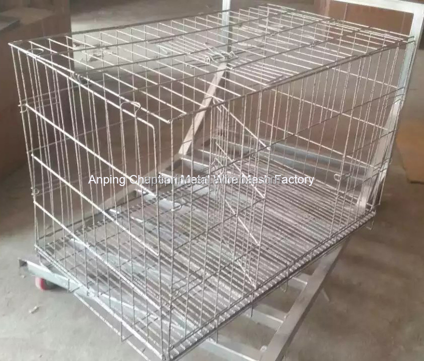 Export Low Price Portable Folding Pet Carrier For Dog cage
