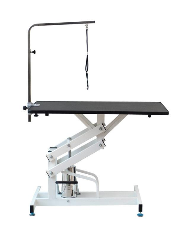 djustable hydraulic dog grooming table