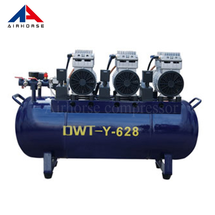High Quality ISO&CE Certified Piston Air Compressor Oil Free Noiseless Silent Compressor Industrial