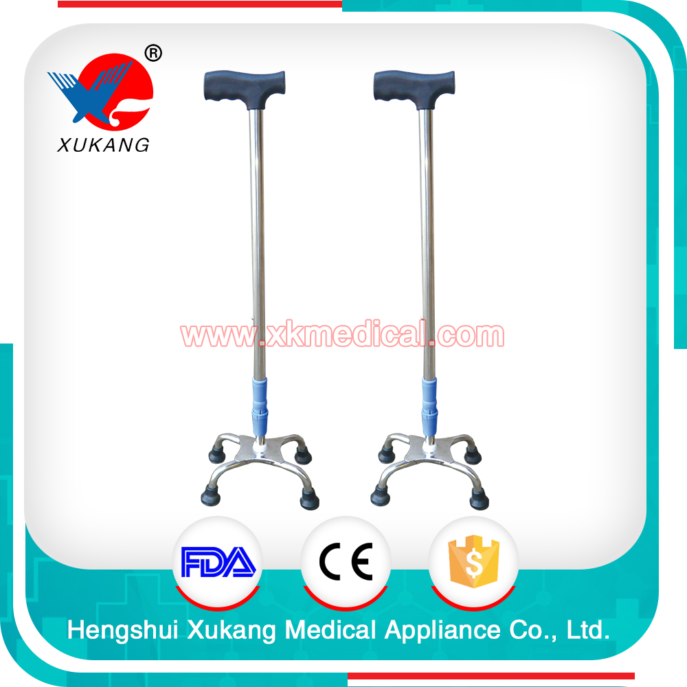 High quality aluminum alloy New design 4-legs support crutches/leg support crutches for sale