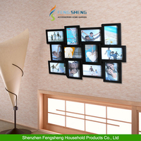 Latest Design Of Photo Frame Collage 12 Multi Picture Photo Frame Collage Aperture Wall Decoration