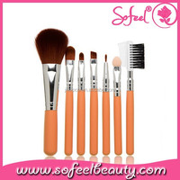 7pcs Professional Synthetic Makeup Brush Sets with Private Logo Brush Sets