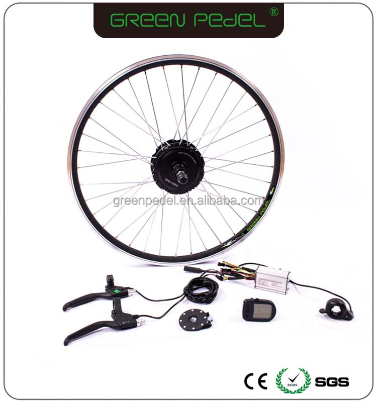 "Cheapest Green Pedel direct factory cassette 26"" 36V 250W electric bike/bicycle conversion kits"
