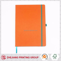 2017 Orange Leather Cover Diary For