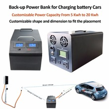 Vehicle Nissan Leaf battery car power bank spare back-up power battery extra battery AC 220V output charger