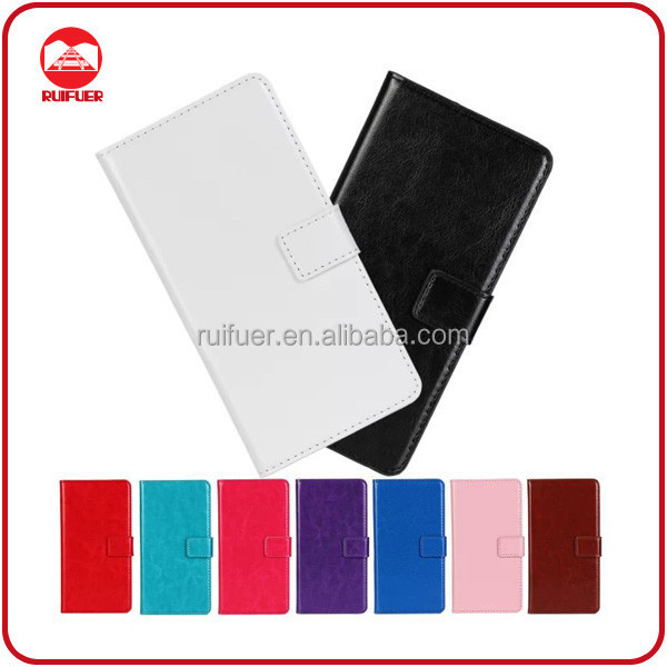 China Manufacturer Wholesale Book Style Stand Magnet Flip Wallet Leather Back Cover Case for LG G Pro Lite Dual D686