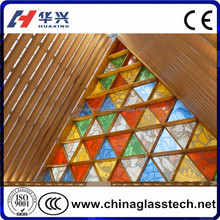 CE&CCC customized Top Soundproof Tinted Glass tiffany style stained glass