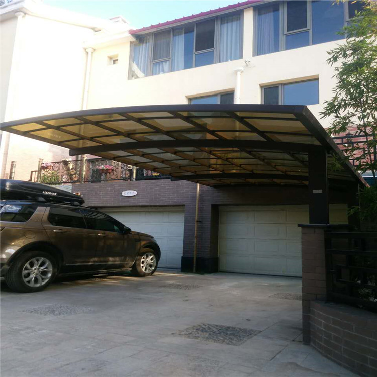 Lanyu clear plastic cover garage carport designs