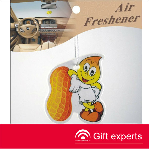 Cheapest 2013 Logo Printed Paper Card Funny Car Air Freshener