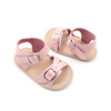 Wholesale Fashion Baby Girls Shoes Cute Newborn First Walker Sandal Infant Leather Princess Soft Sole Sandal