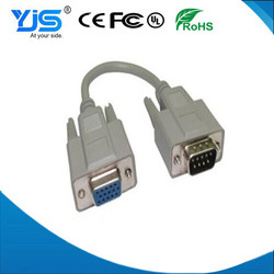 DB9 To VGA Cable, RS232 Male to Male VGA Cable FACTORY
