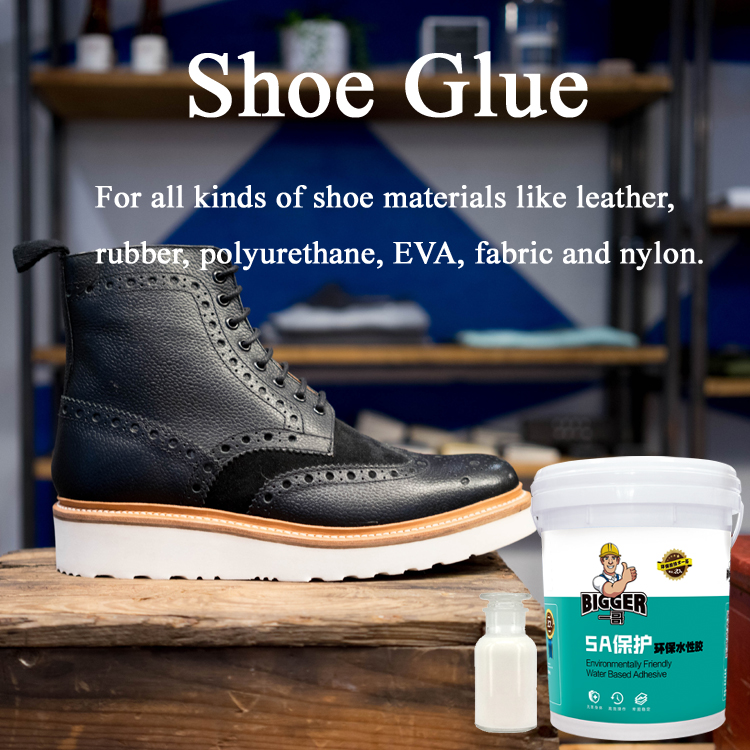Water based glue polyurethane emulsion shoe adhesive for shoe pasting