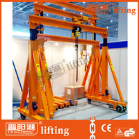 motor gantry crane types specification