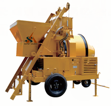 Self-Loading Hydraulic Diesel Engine Concrete Mixer