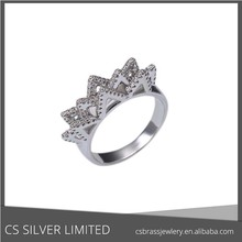 G-14367 High qulity brass ring with flower