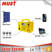 good price high quality wholesale small portable off grid DC solar lighting kits for home