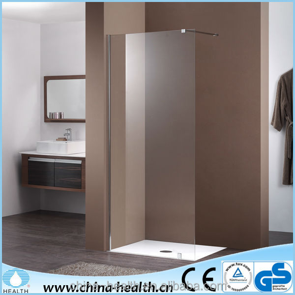 Single Fixed Panel Bathroom Screen JP502B