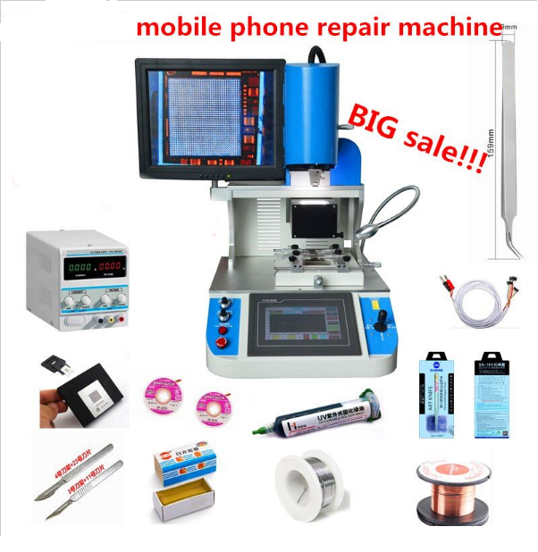 Best Price Bga Rework Station Hard Disk Drive GW600 For Iphone/ Samsung /Xiaomi Motherboard Repairing