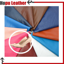 2017 hot selling emboss pu leather material for shoe upper with good After-sales service
