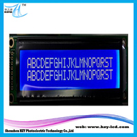 LCM Type Blue 4.56 Inch Factory 5V 20 x 2 LCD Module Character