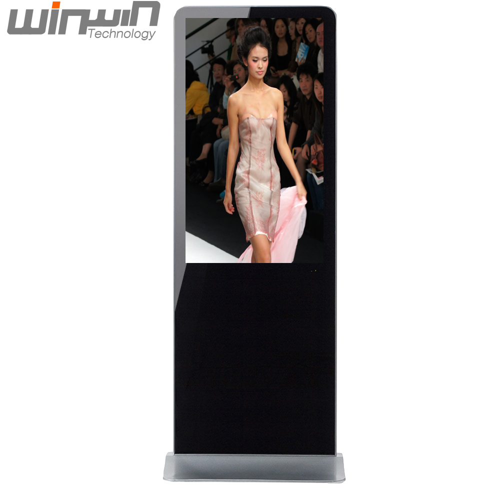 New Year Promotional 43inch Floor Standing Digital Signage Display with Free AD <strong>Software</strong> for Adverting