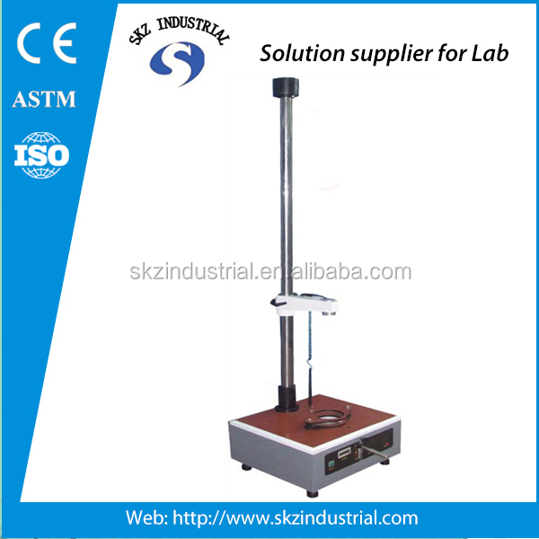 Falling dart impact tester astm d1709 drop impact test machine