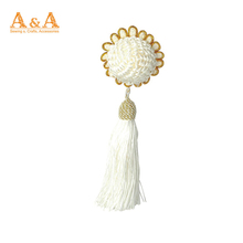 Large Drapery Curtain Tie-Backs Twisted Rope Braided Tassels