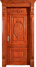 Customized solid wood interior door for villa YHB-1203