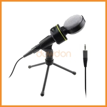Wired Desktop Mini Multimedia Computer Plastic Professional Karaoke Microphone