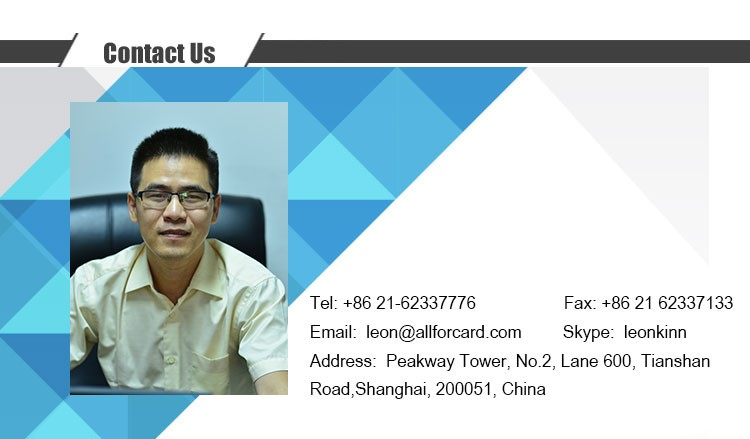 Top Grade Nice ALL Customized PVC Business Card Embosser