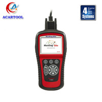 Original Autel MaxiDiag Elite MD802 Code Scanner MD 802 Update Online with 4 Systems (MD701+MD702+MD703+MD704)+DS Model
