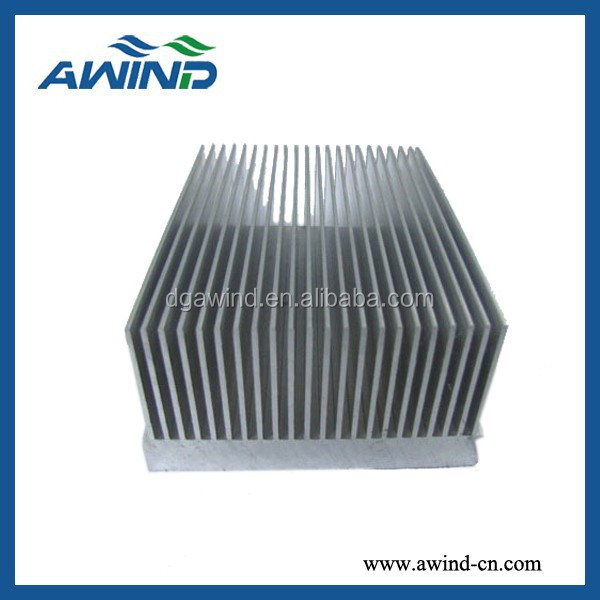 OEM aluminum extruded heat sink for industry