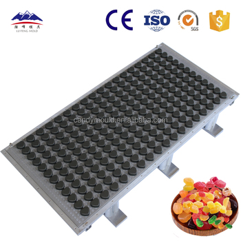 Starch jelly/gummy candy Punch mould ,soft sweet mold