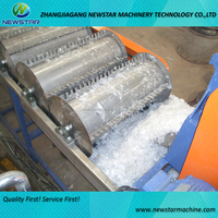 Hot selling best quality CE standard cost of plastic recycling machine PE PP film recycling washing