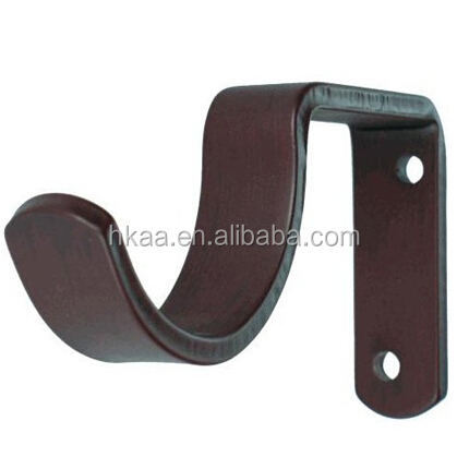 custom curtain bracket,metal curtain rod bracket,curtain rod wall bracket