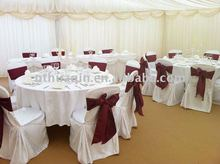 wedding and banquet jacquard chair cover