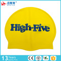 2017 new arrival waterproof silicone long hair swim cap