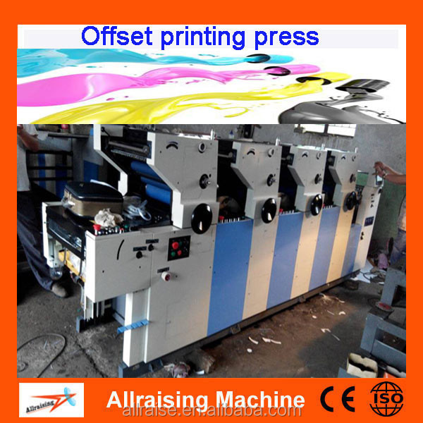 Automatic Digital Newspaper Magazine Color Printing Machine