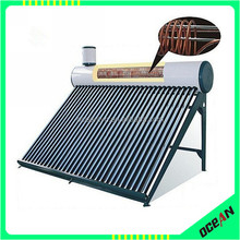 Pressurized solar water heater with copper coil, solar geysers, solar hot water heater
