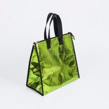 China wholesale lightweight embossed non woven fabric thermal lunch cooler bag/pp non woven food warmer bag