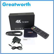 2017 TV Box A95X R1 Rockchip RK3229 1G/8G Kodi 4k Android TV Box Set Top Box